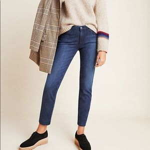 AG mid rise premiere skinny straight jeans